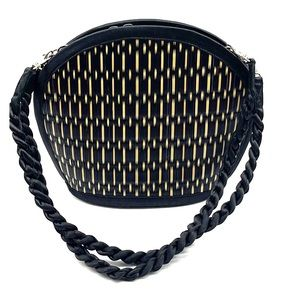 Baskets of Cambodia Clamshell Bag